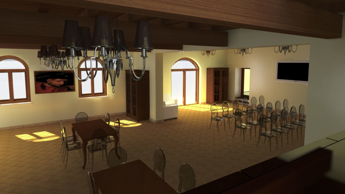 Sala Convegni vista 1